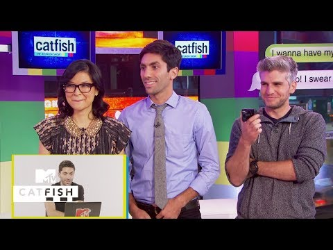 Nev Reacts To The 1st Proposal Ever On The Show | Catfish: The TV Show