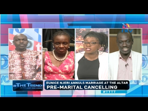 Eunice Njeri annuls marriage, video suggests otherwise - #TTTT