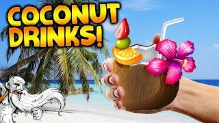 NEW consumable coconut drinks Update! - Let
