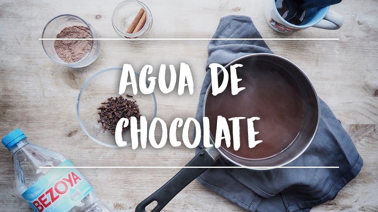 Receta De Agua De Chocolate Para Combatir El Frío