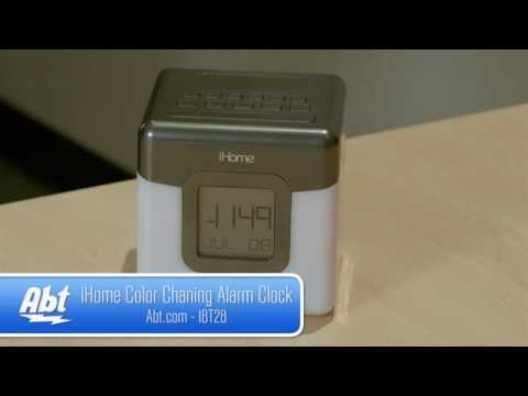 ihome-color-changing-bluetooth-alarm-clock-ibt28gc-overview
