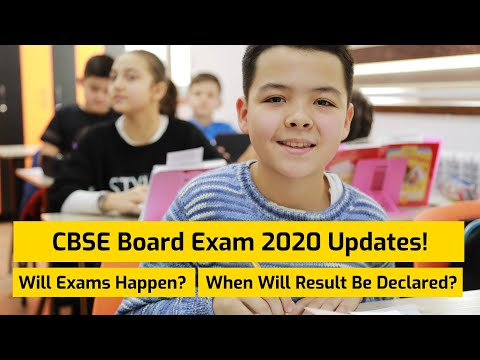 CBSE Board Exams 2020 Latest News | Will Exams Happen | When Will Result Be Declared
