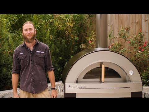 Forno Venetzia Torino 500 Wood Burning Pizza Oven Review | BBQGuys.com