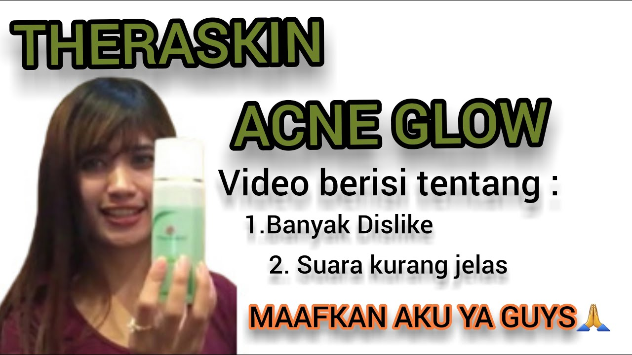 Review Theraskin Acne Glow Suncare Pink Bagus Banget Youtube And Brightener