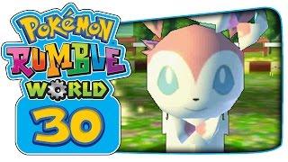 Pokémon Rumble World - Part 30: Houndoom, Samurott, & Sylveon Boss Battles!