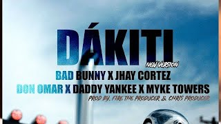 Bad Bunny - Dákiti (Remix) Ft. Don Omar, Daddy Yankee, Myke Towers & Jhay Cortéz [Video Oficial]