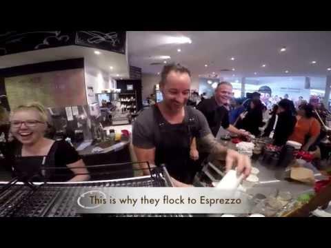 Esprezzo Cafe crowd funding promo 120615