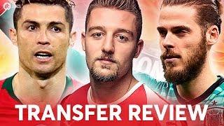 RONALDO, MILINKOVIC-SAVIC, DE GEA! Manchester United Transfer News Review