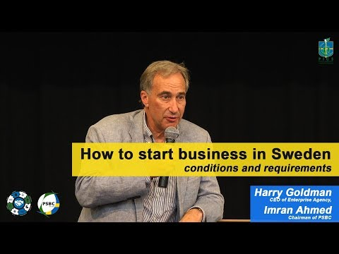 How to start business in Sweden at Source Pakistan Stockholm 2017