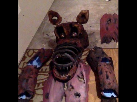 Nightmare Foxy Costume Part 1 Youtube