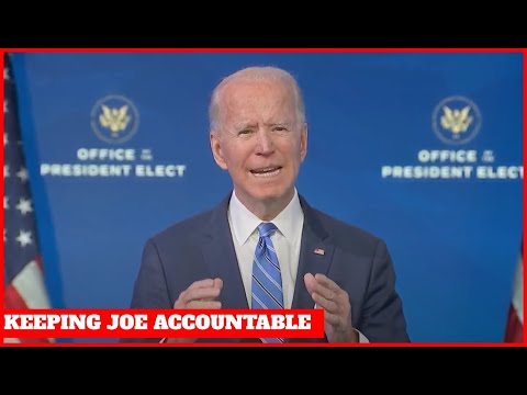 KEEPING JOE ACCOUNTABLE: Biden Delivers QUACKY Speech on his $1.9 Trillion Spending Package
