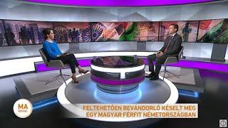 Feltehetően bevándorló késelt meg egy magyar férfit Németországban