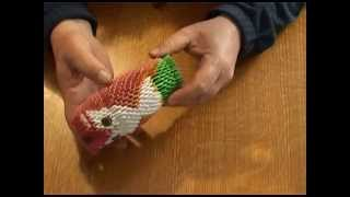 Модульное оригами. Сова .(3D origami)