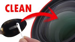How to CLEAN CAMERA LENS   Fastest and cheapest way!