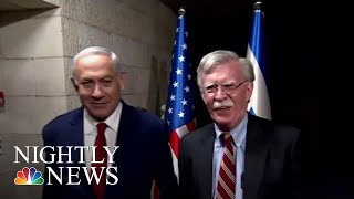 NS Advisor John Bolton Announces There Is No Timetable For Syria Withdrawal | NBC Nightly News