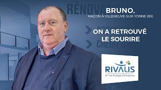 Témoignage Client Rivalis - Bruno, maçon (89)