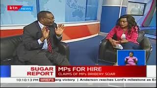 Former MP, Martha Karua, MP. Gladys Wanga and former speaker of the...