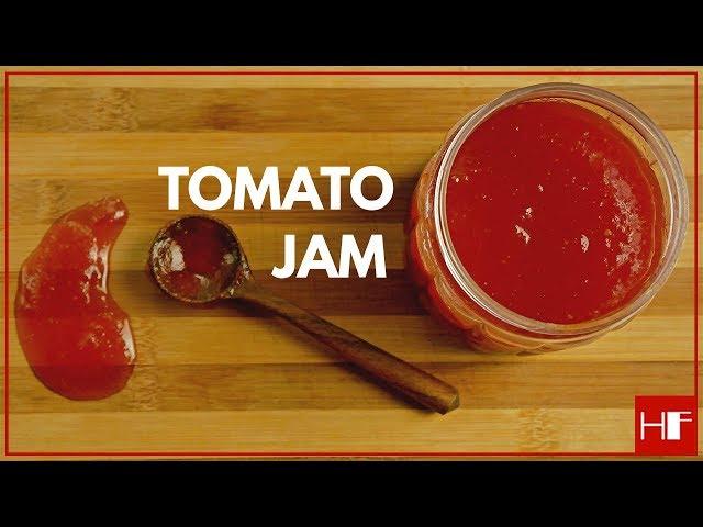 Homemade Tomato Jam || Easy To Make || Recipe
