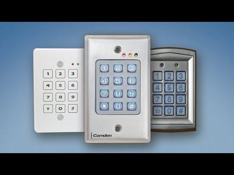 Camden Keypad Product Line