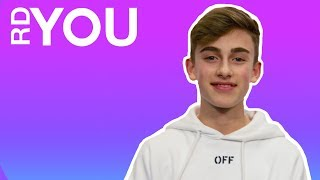 johnny orlando rdyou on the spot radio disney