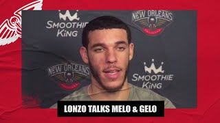 Lonzo Ball talks LiAngelo & LaMelo in the NBA, Pelicans' expectations this season | NBA on ESPN