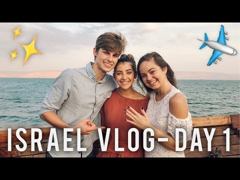 SURPRISE ENGAGEMENT! - Israel Vlog Day 1