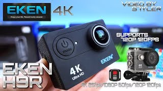EKEN H9R | 120fps Action Camera with Remote Control + 2 Inch Screen