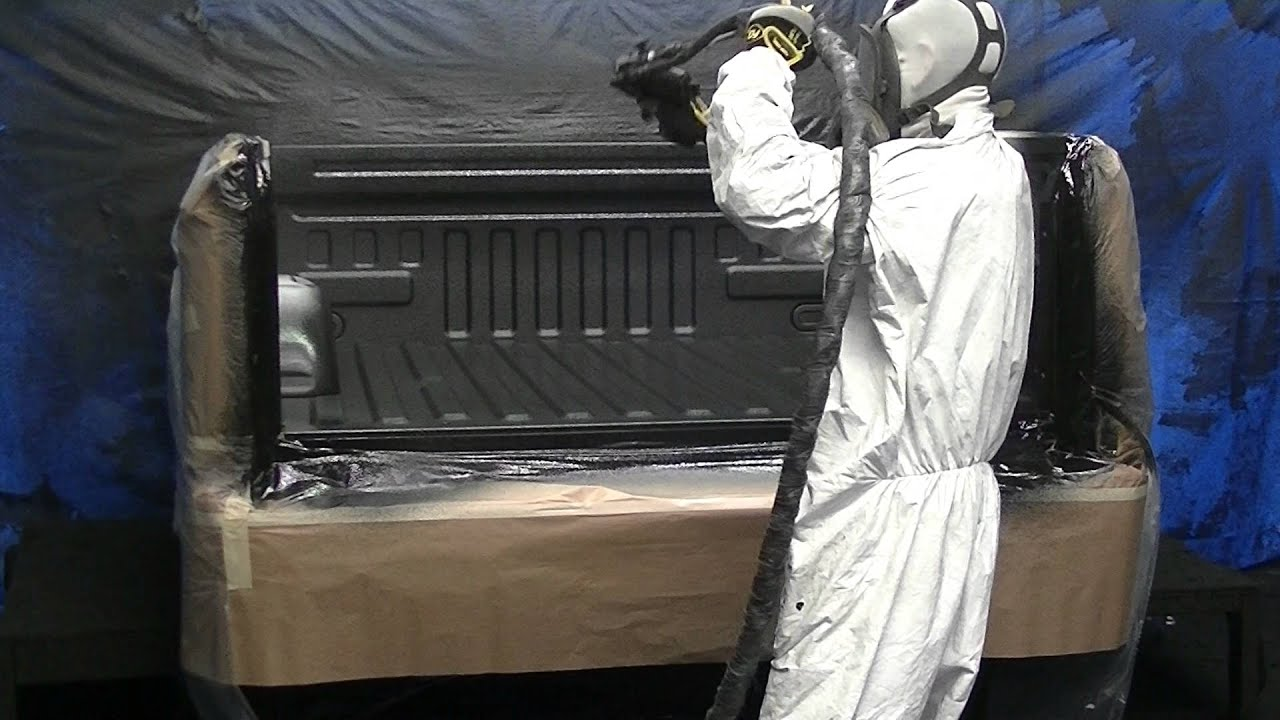 Best Spray On Bedliner >> Hitch Pros Spray On Bedliner Truck - YouTube