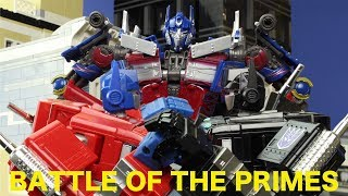 Battle of the Primes! - Transformers Stop Motion - Age of Swagwave 2017 Contest Entry