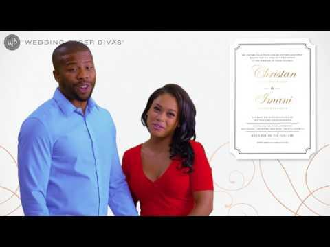 Foil Wedding Invitations   Wedding Paper Divas