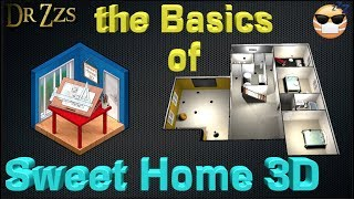How to Draw a Floorplan and get a 3D picture with SweetHome3D