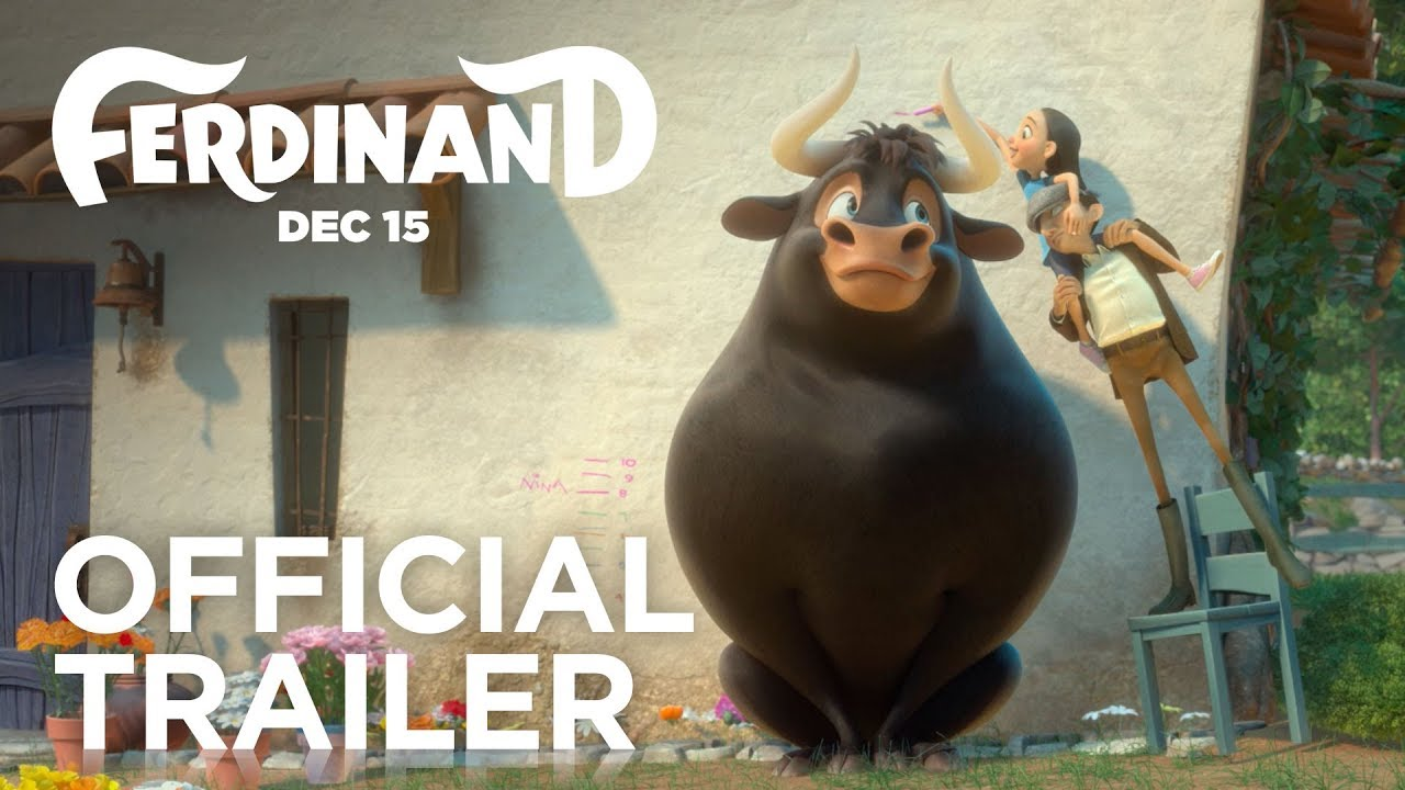 Ferdinand Official Trailer Hd Fox Family Entertainment Youtube