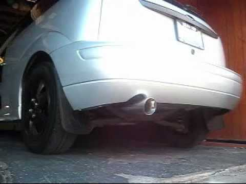What Is A Muffler Delete >> 2007 Ford Focus Magnaflow Cat Back Exhaust - YouTube