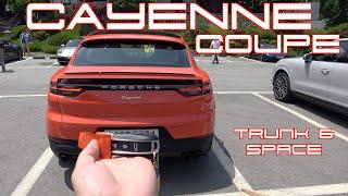 포르쉐 카이엔 쿠페 트렁크 & 2열(Porsche Cayenne Coupe Trunk & Space)