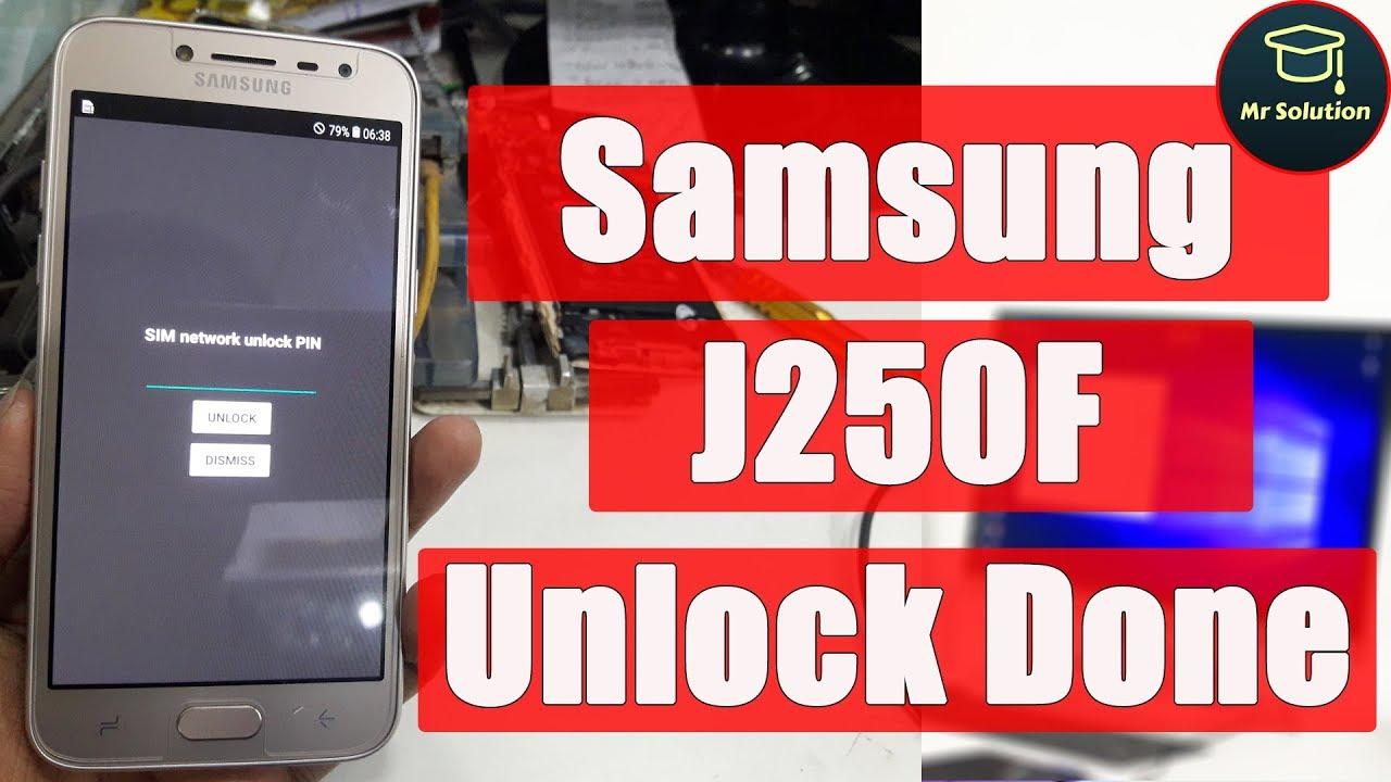 Samsung J250F Network Unlock Code Read By SamKEY | How to Unlock Samsung  J250F Network Unlock Code