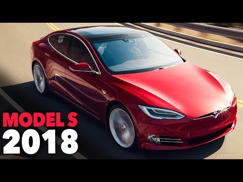Tesla Model S 2018 - Exterior Design and Driving Performance Electric Car