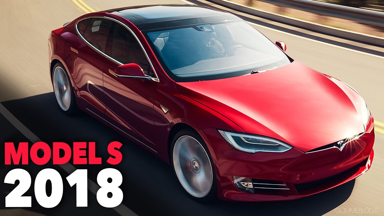 Tesla Model S 2018 Exterior Design Driving