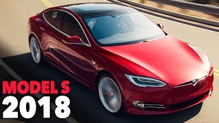 Tesla Model S 2018 - Exterior Design + Driving