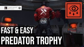 Predator Trophy / Achievement - Wolfenstein Youngblood