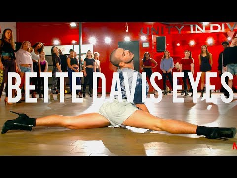 "YANIS MARSHALL HEELS CHOREOGRAPHY ""BETTE DAVIS EYES"" KIM CARNES. MILLENNIUM DANCE COMPLEX L.A."