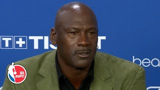 Michael Jordan addresses LeBron James comparisons during Paris press conference | NBA on ESPN