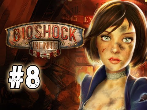 Bioshock Infinite Walkthrough - Part 8 Bucking Bronco Ultra Let's Play Commentary