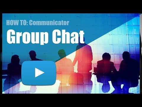 Create Group Chat Within Communicator