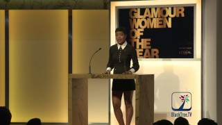 Keke Palmer Presenting at Glamour Magazine Women of the Year Awards