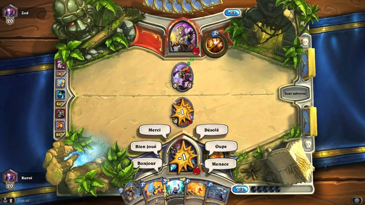 hearthstone mage vs priest revised deck beats this priest youtube