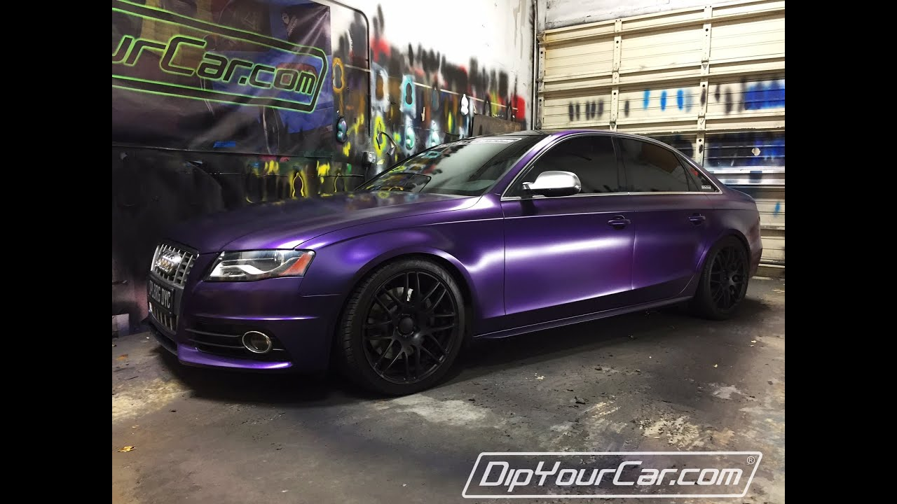 Nebula Purple Plasti Dip Youtube