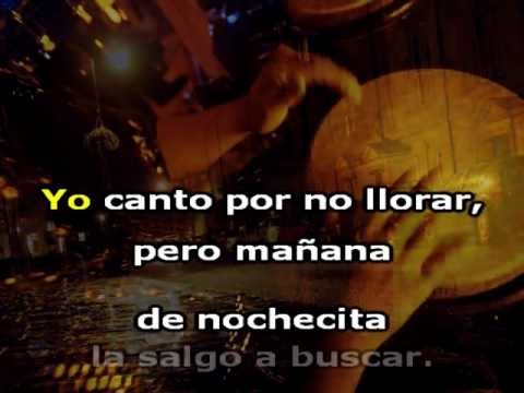 MEDIAS NEGRAS. Karaoke. Willy Chirino