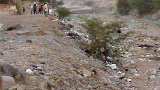 huayco en rio de nasca