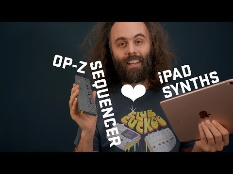 OP-Z Sequencing IPad Synths - Song Buildup Jam Workflow