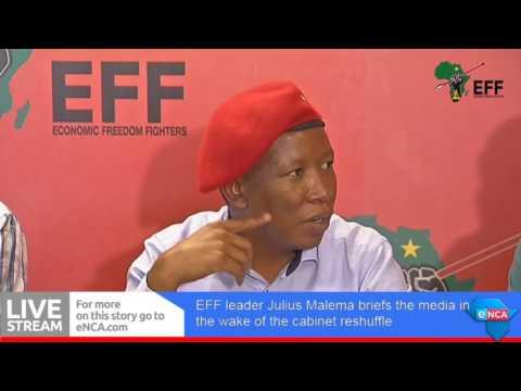 CIC Julius Malema warning SA that Gwede Mantashe will change tune